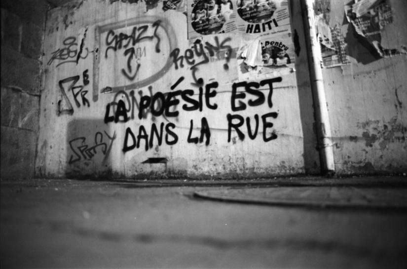 poesie rue